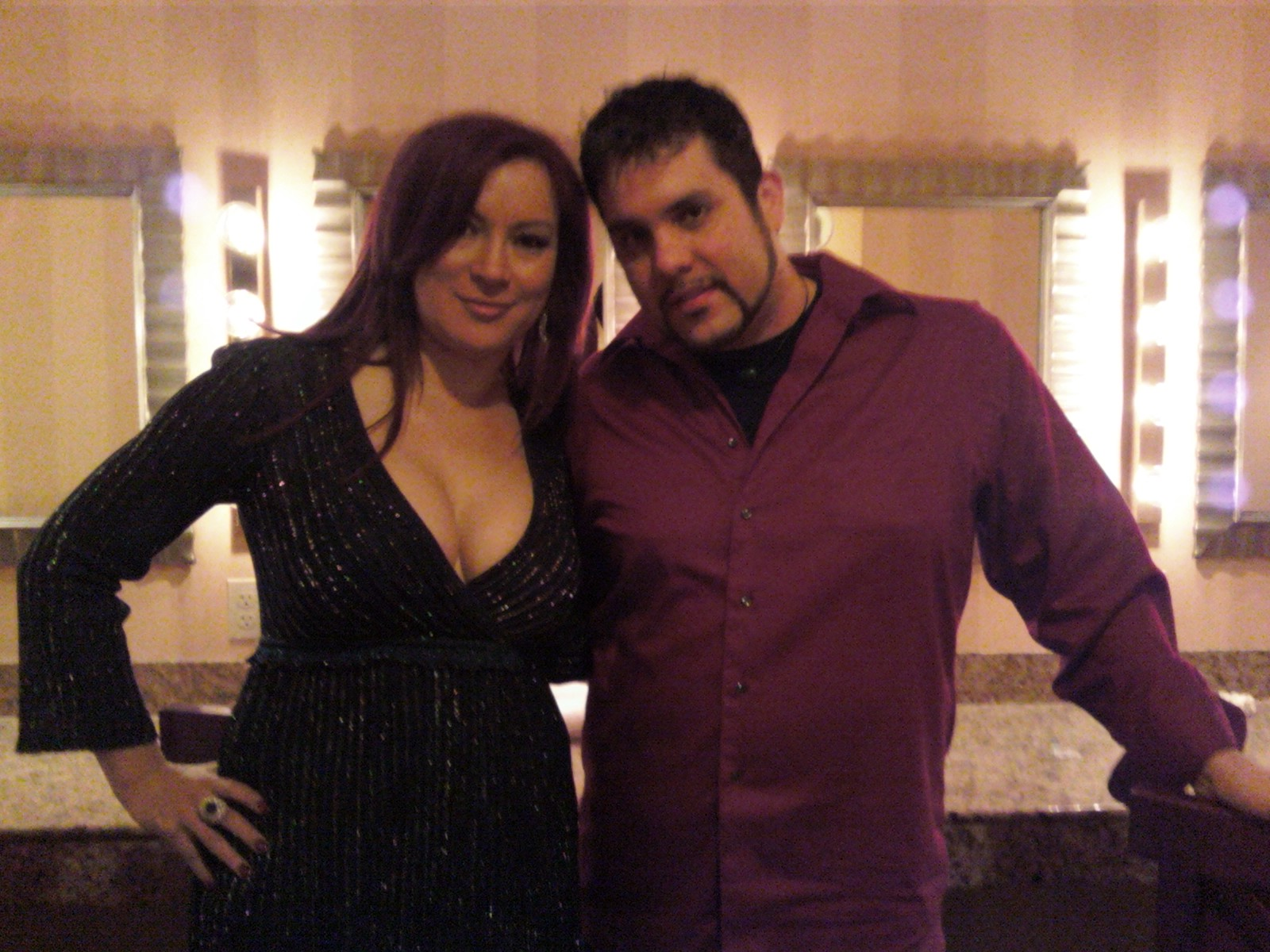 Me and Jennifer Tilly